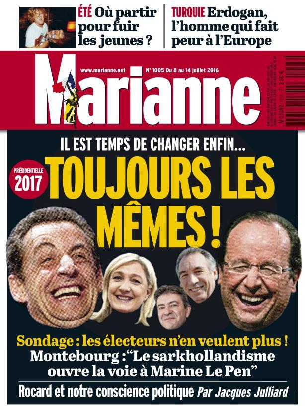 Marianne 1005 - 8 au 14 Juillet 2016