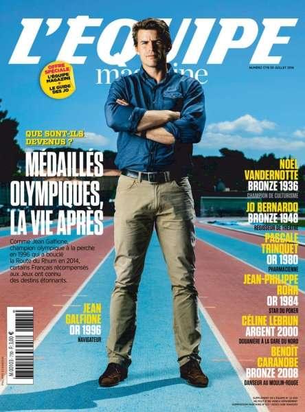 L'Equipe Magazine 1776 - 30 Juillet 2016
