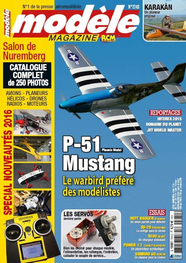 Modèle Magazine - Mars 2016