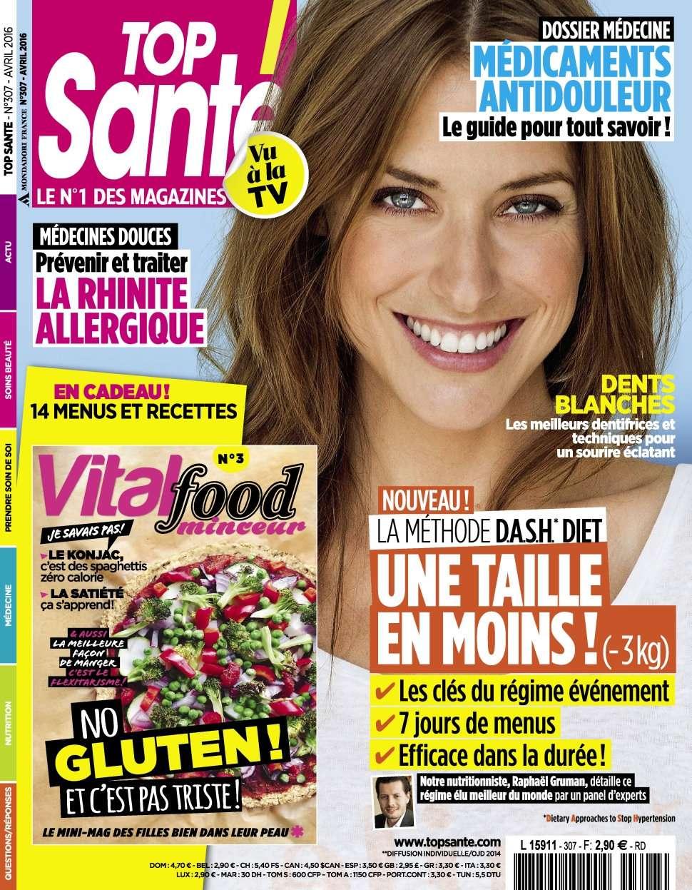 Top Santé 307 - Avril 2016