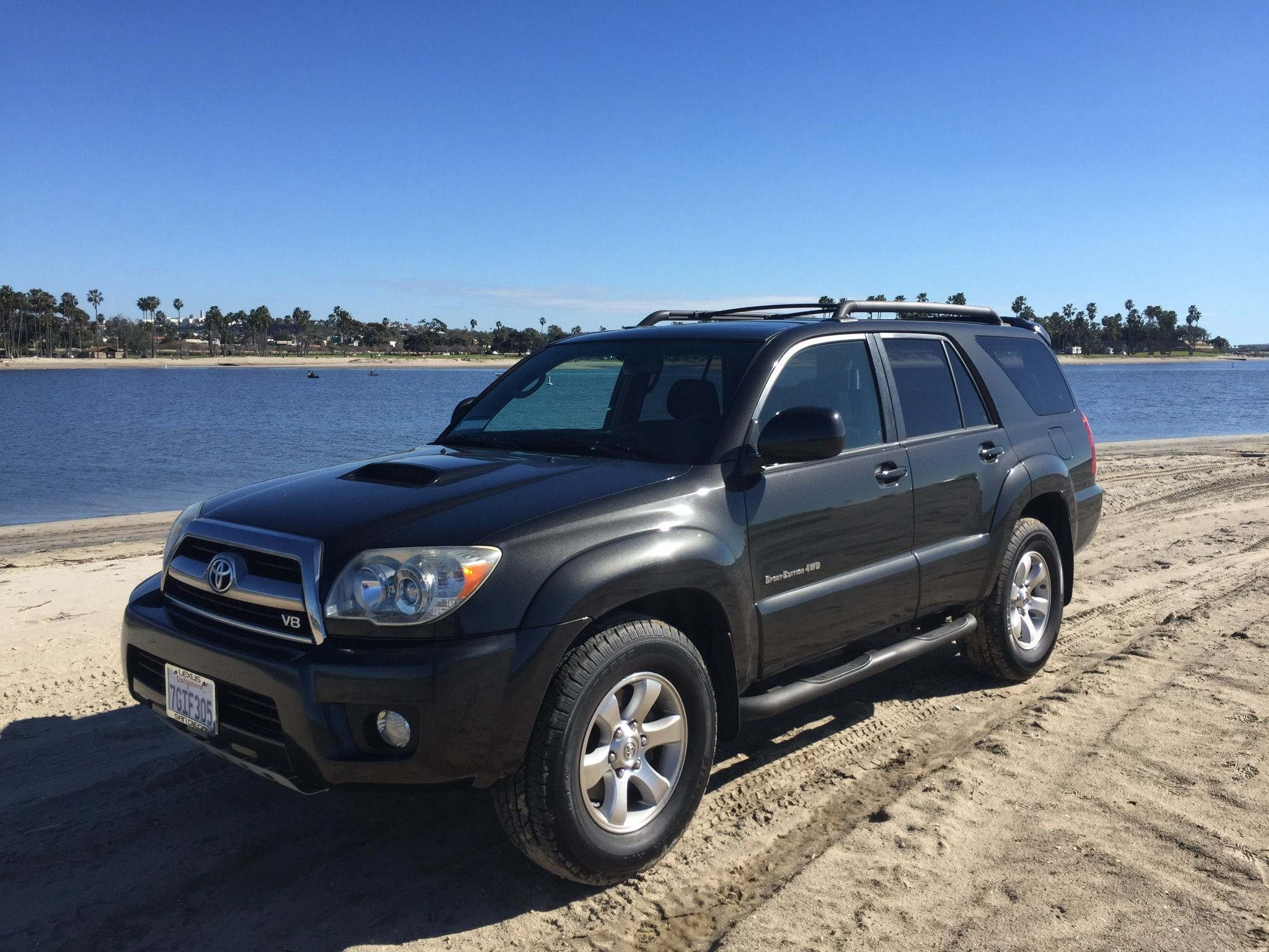 Just scored a shadow mica sport V8 4wd San Diego Toyota 4Runner