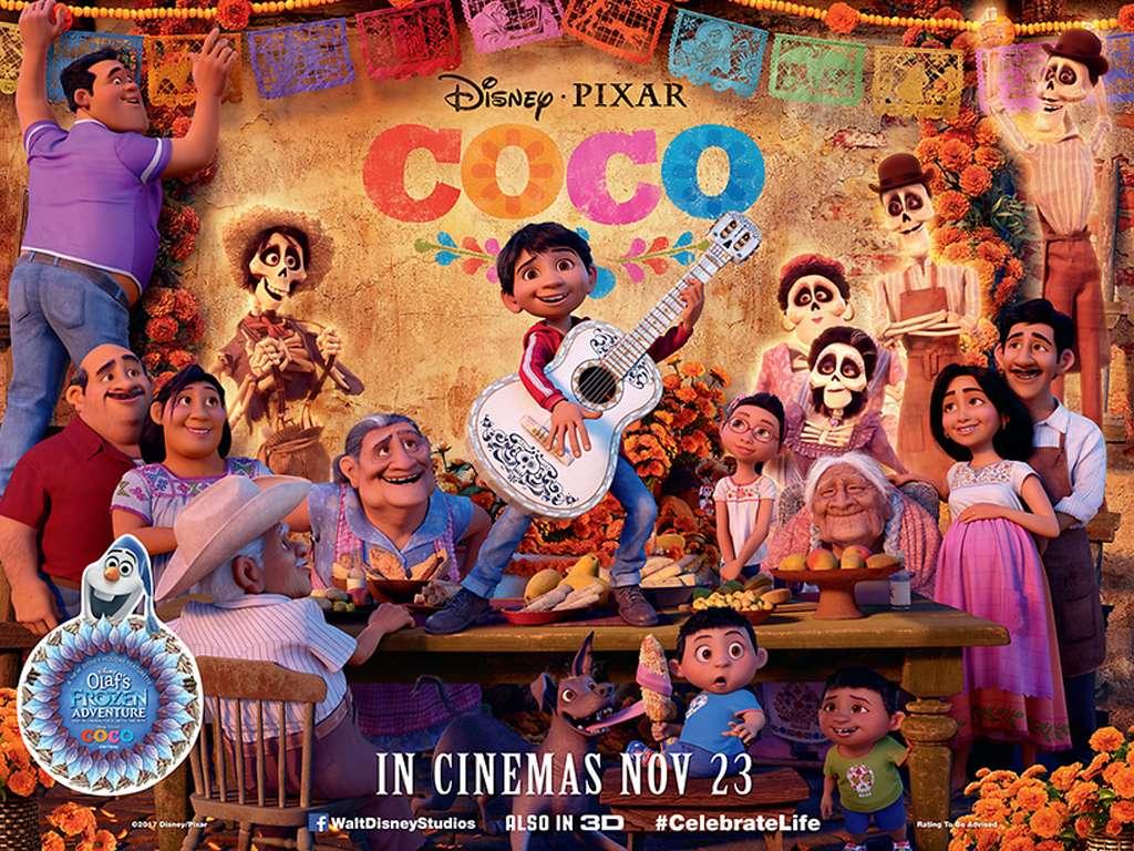 Coco Quad Poster Πόστερ