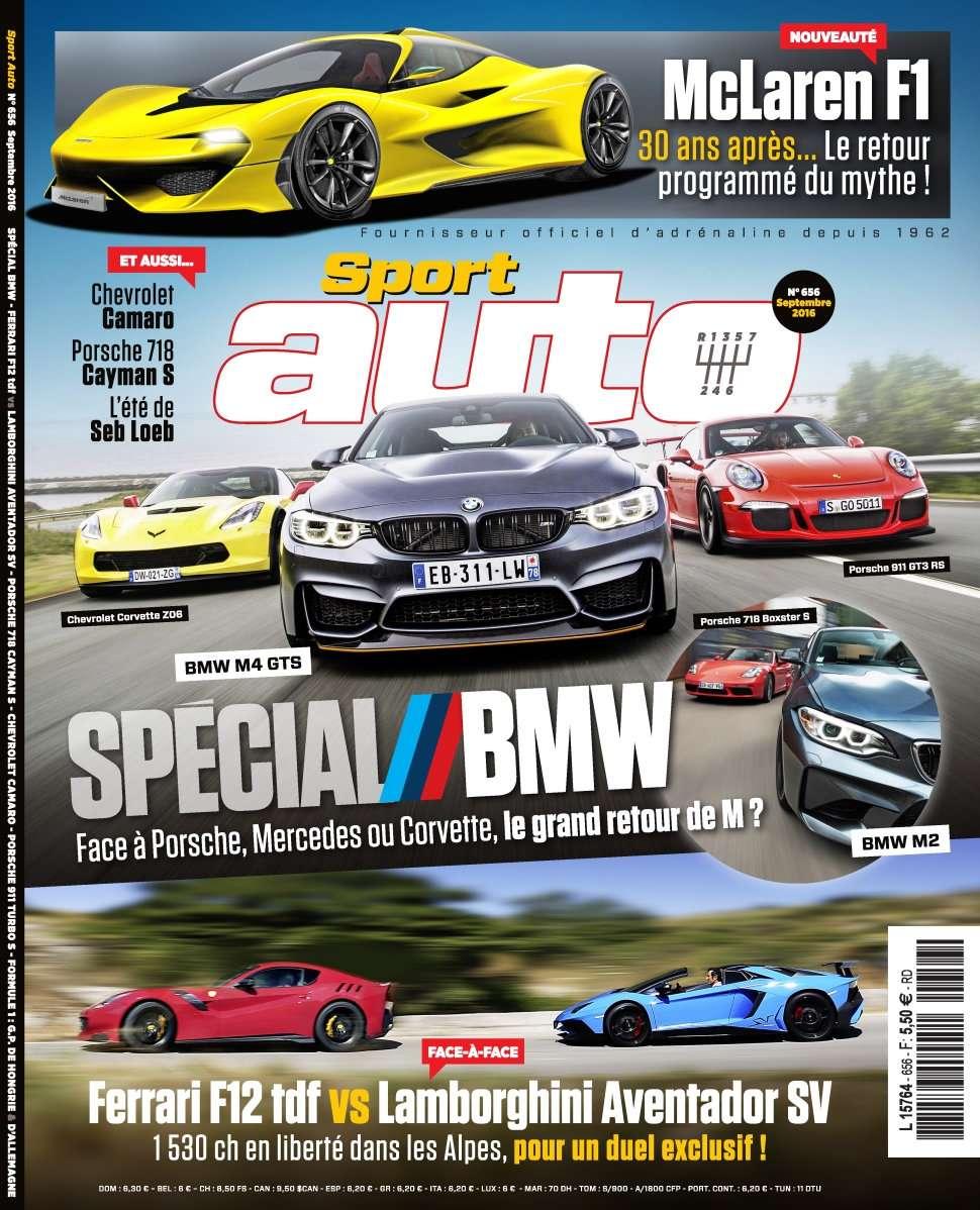 Sport Auto 656 - Septembre 2016