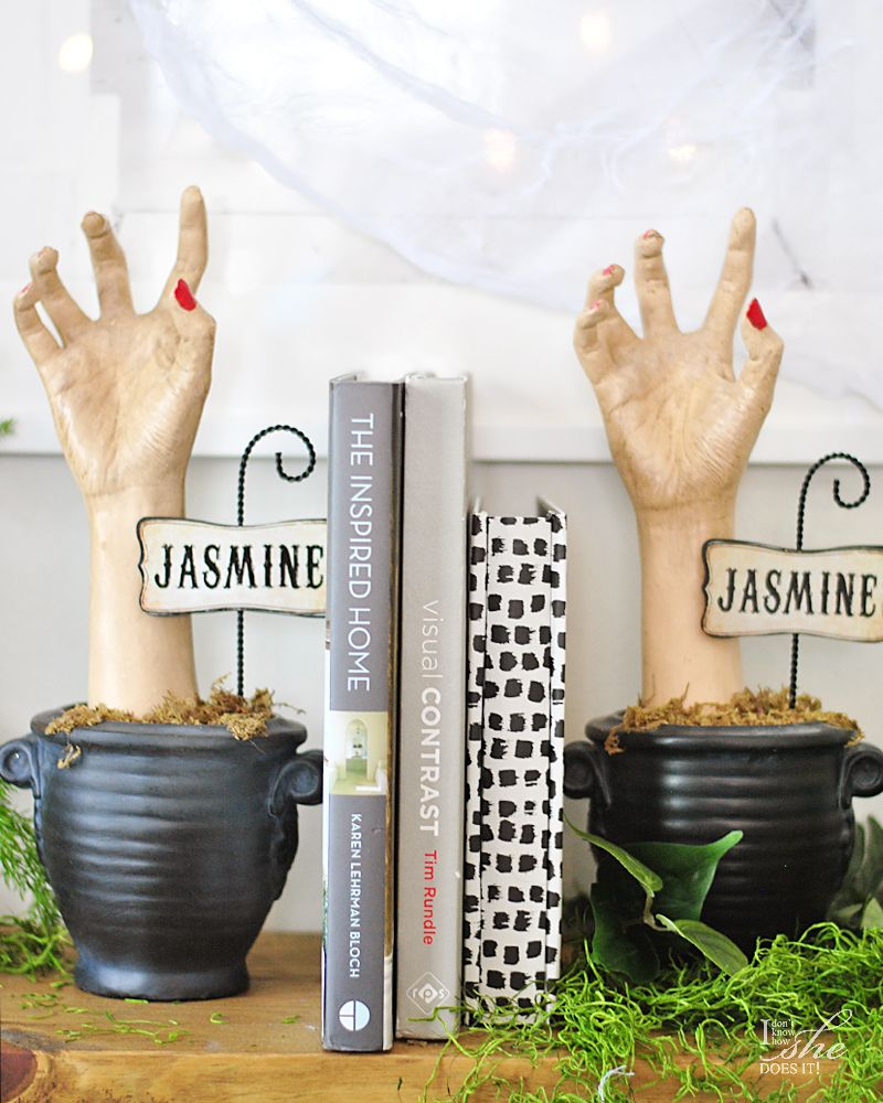 Haunted dining table Jasmine hands