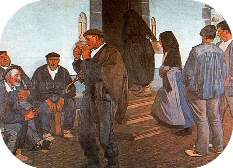 Historia vascos aldeanos