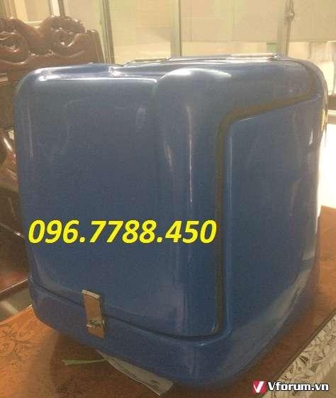 www.123raovat.com: Thùng chở hàng sau xe máy, thùng giao hàng 0967788450