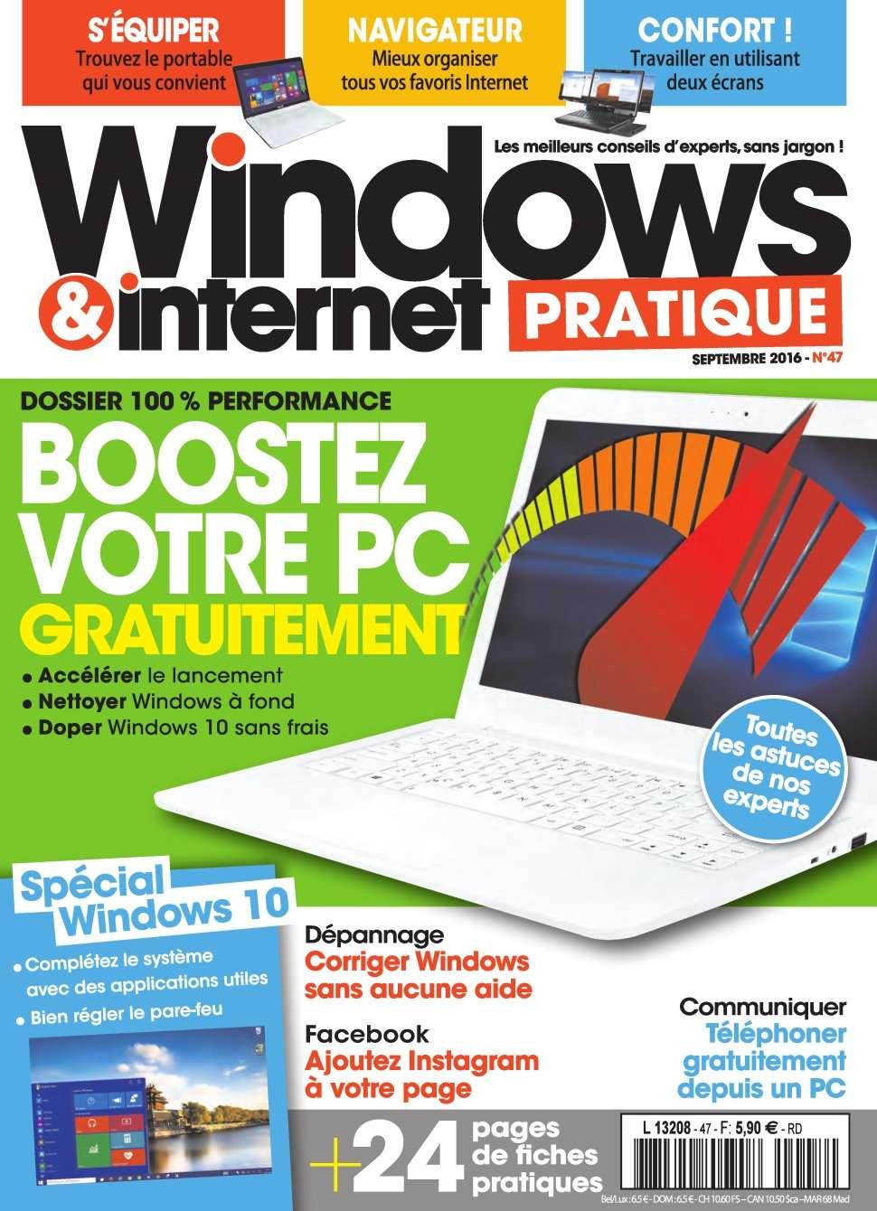 Windows & Internet Pratique 47 - Septembre 2016