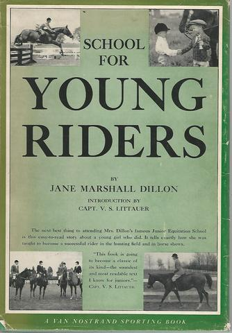 School for Young Riders, Dillon, Jane M.