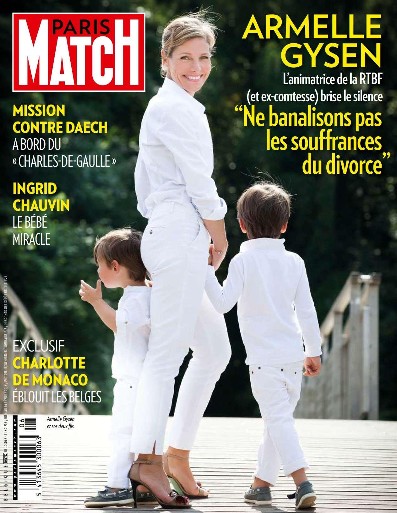 Paris Match belgique - du 4 au 10 Février 2016