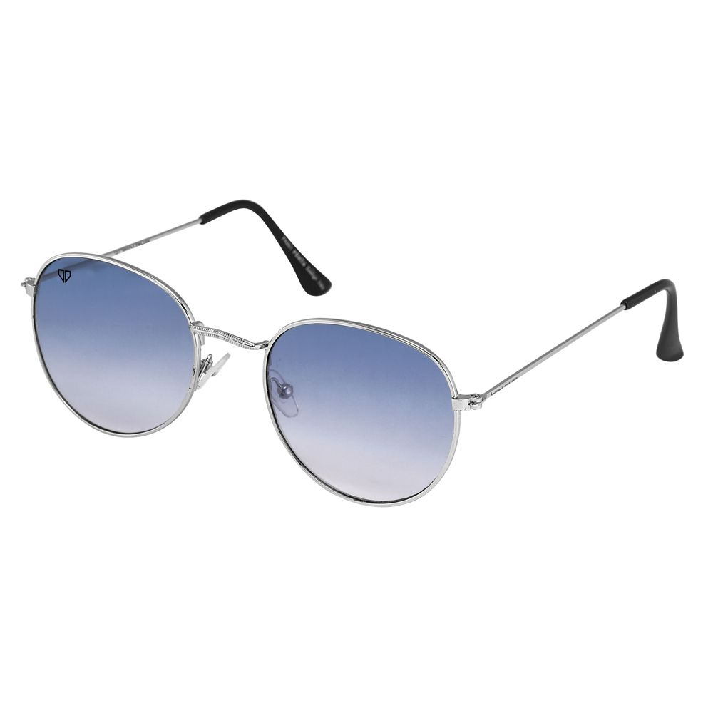 Walrus Royal Blue Color Unisex Oval Sunglass - WS-RYL-030707