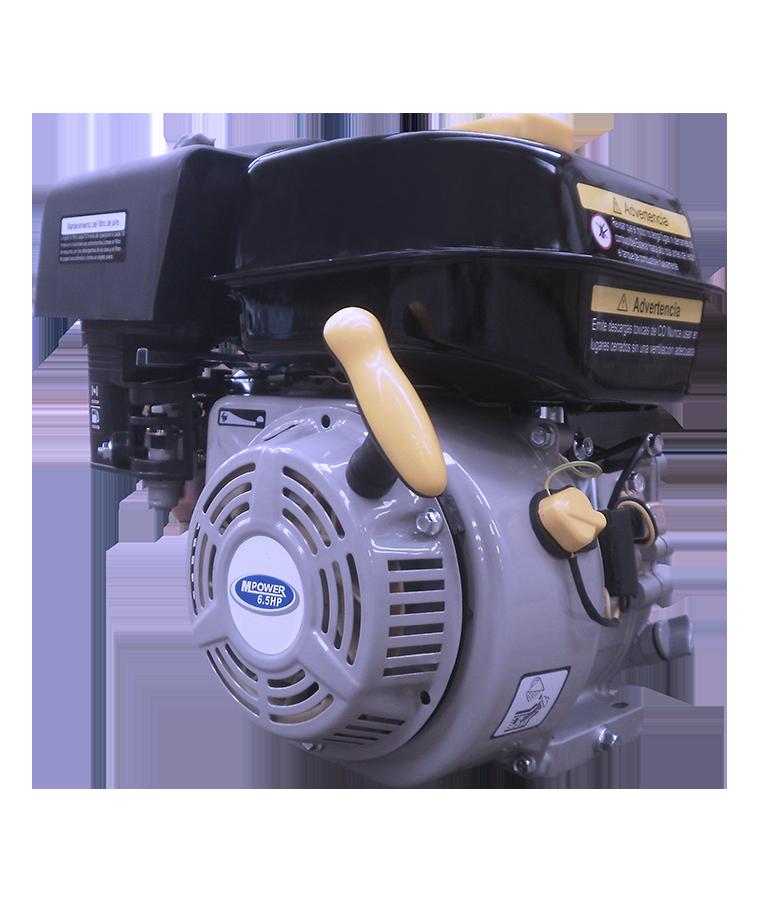 Motor A Gasolina Mpower 6.5 Hp Flecha Cuñero