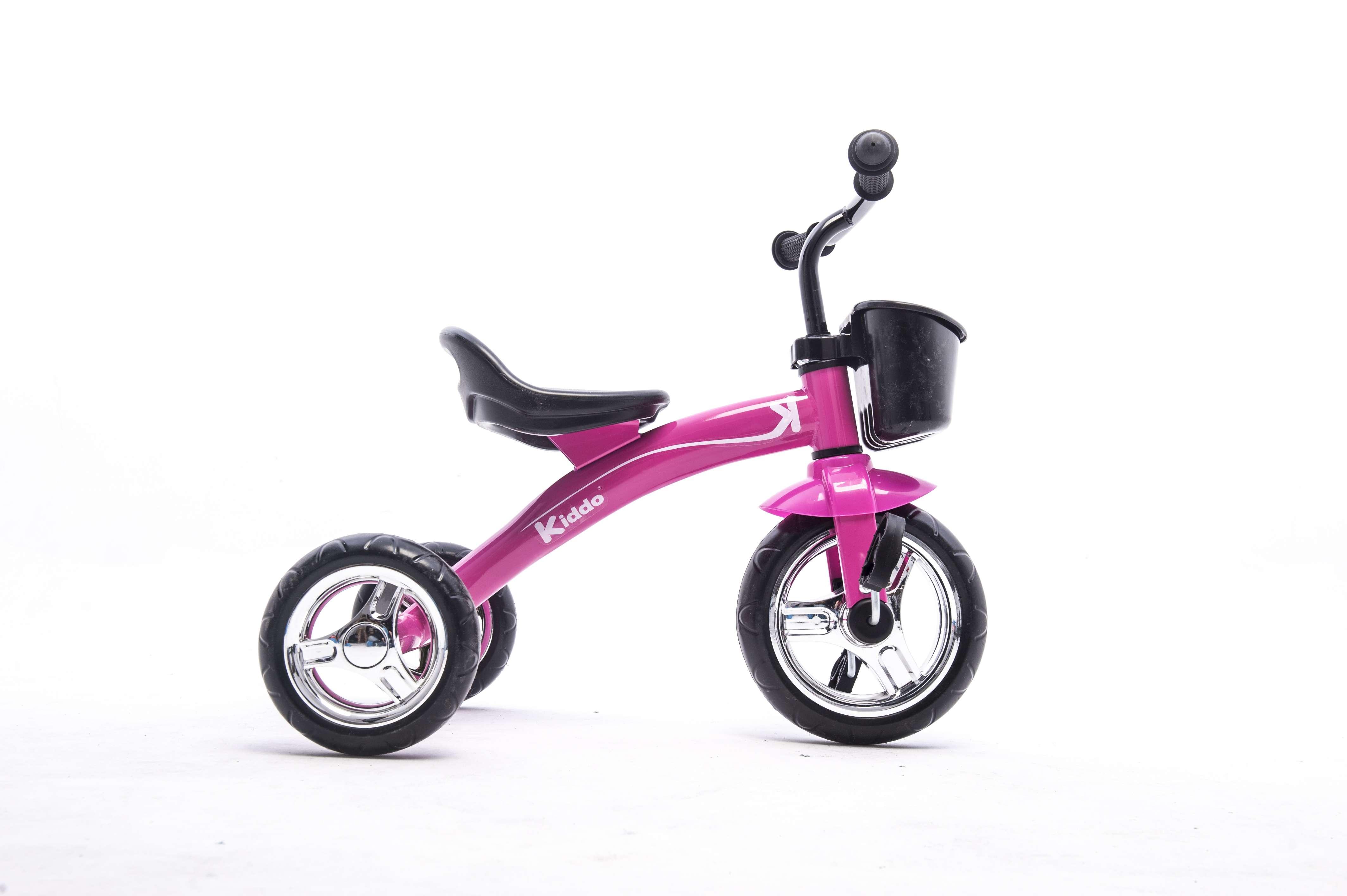 Kiddo Pink 3 Wheel Smart Design Kids Child Children Trike