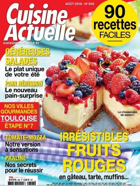 Cuisine Actuelle - Aout 2016