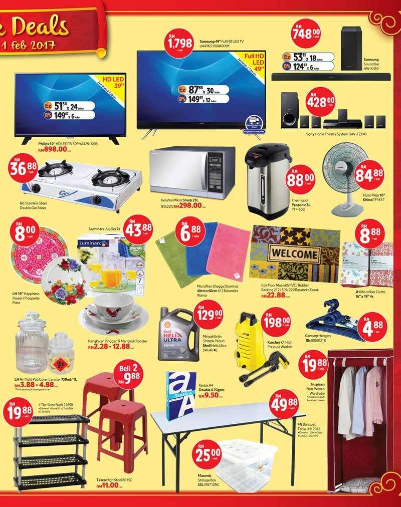 Tesco Malaysia Weekly Catalogue (26 January 2017 - 1 February 2017)