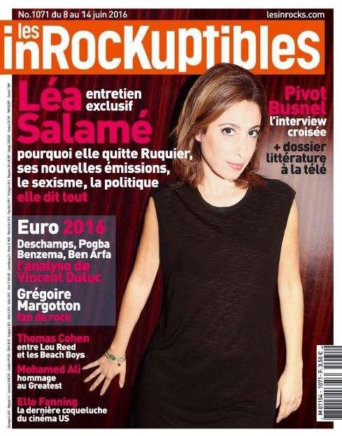 Les Inrockuptibles 1071 - 8 au 14 Juin 2016