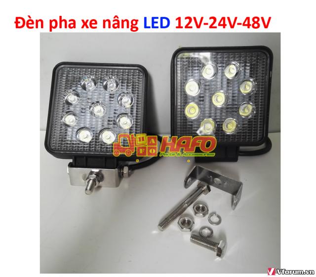 Đèn  cảnh báo 48V-12V-24V, Đèn cảnh báo xe nâng, Đèn pha xe nâng 48V - 1