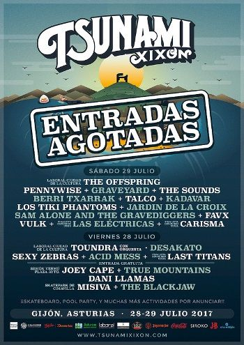 Tsunami Xixón - cartel