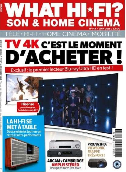 What Hi-Fi France - Juin 2016