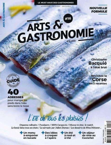 Arts & Gastronomie - Été 2016