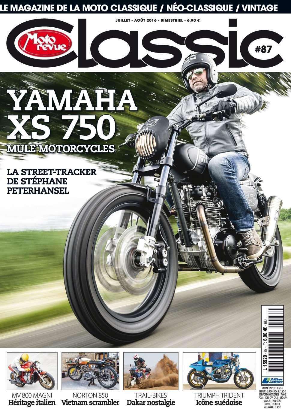 Moto Revue Classic 87 - Juillet/Aout 2016