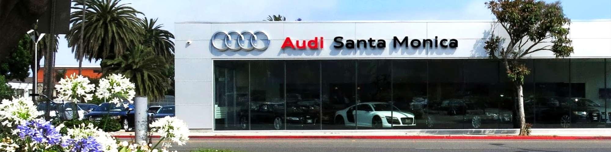Santa Monica Audi - New and Used Car Dealer Serving LA
