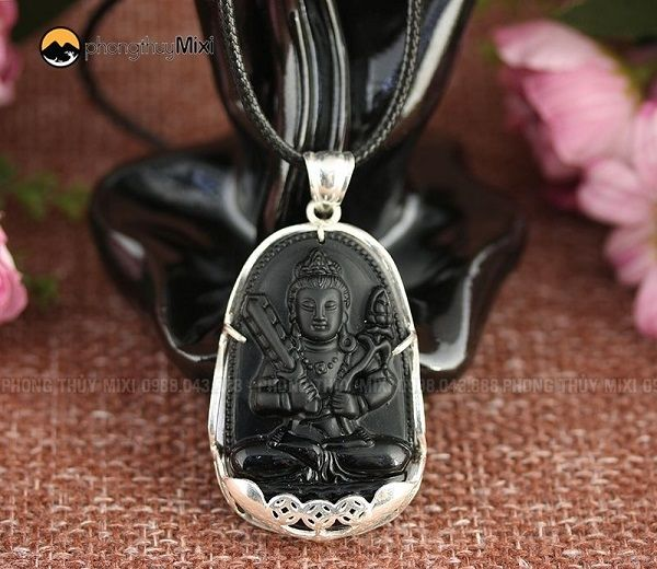 Phật Bản Mệnh Hư Không Tạng Bồ Tát Olic to Bọc bạc