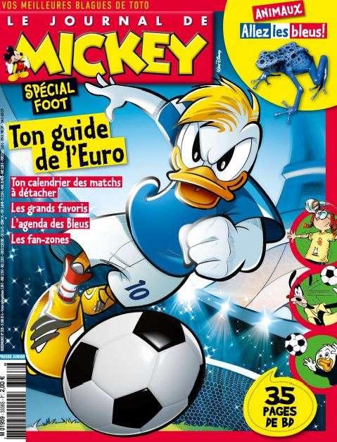 Le Journal de Mickey - 8 au 14 Juin 2016