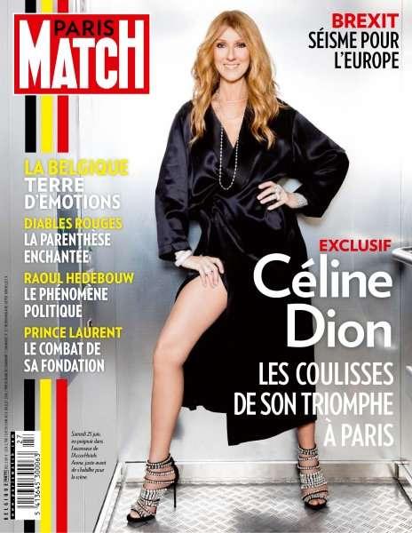 Paris Match Belgique 773 - 30 Juin au 6 Juillet 2016