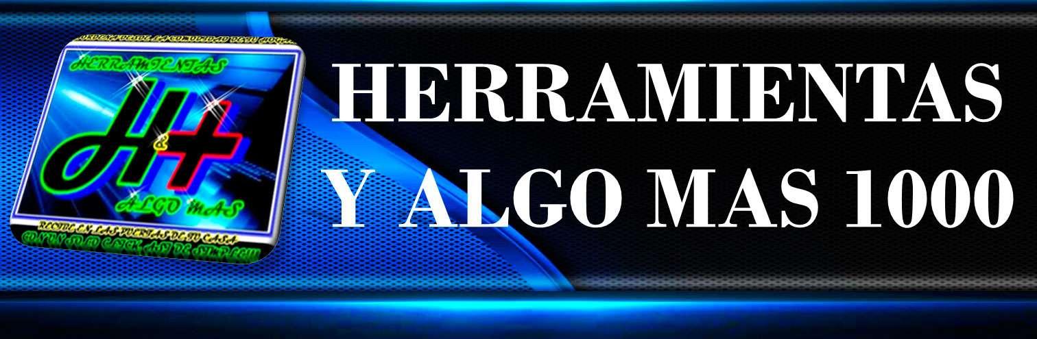 HERRAMIENTASYALGOMAS