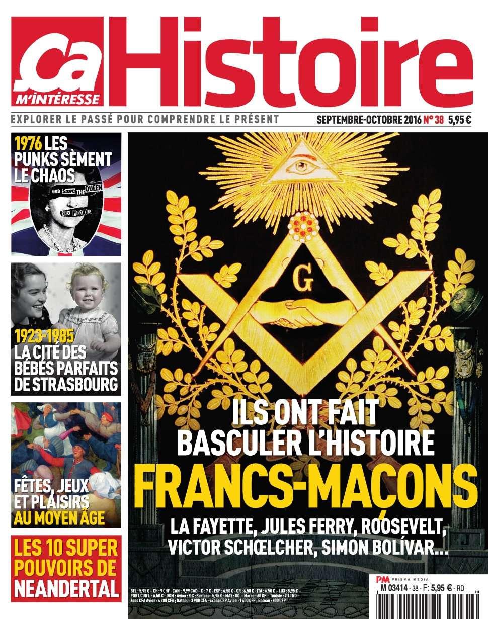 Ça M'intéresse Histoire 38 - Septembre/Octobre 2016