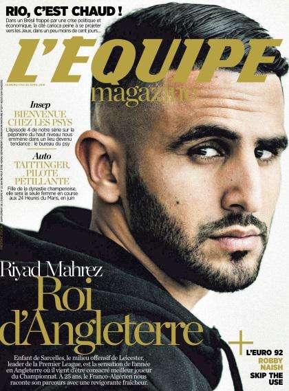 L'Equipe Magazine - 30 Avril 2016