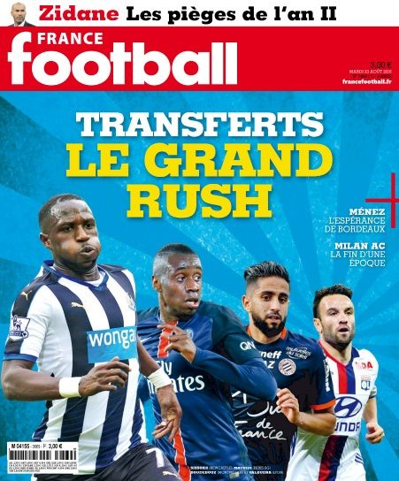France Football - 23 Août 2016
