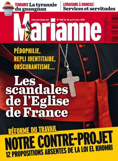 Marianne 988 - 18 au 24 Mars 2016