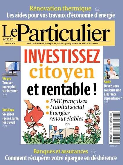Le Particulier - Juiillet/Août 2016