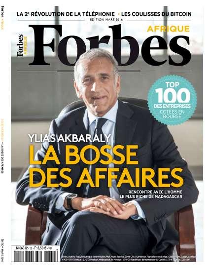 Forbes Afrique - Mars 2016