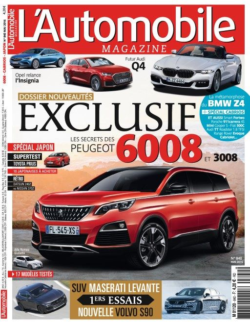 L'Automobile magazine 840 - Mai 2016