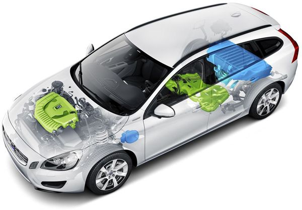 Volvo Drive-E Vehicles