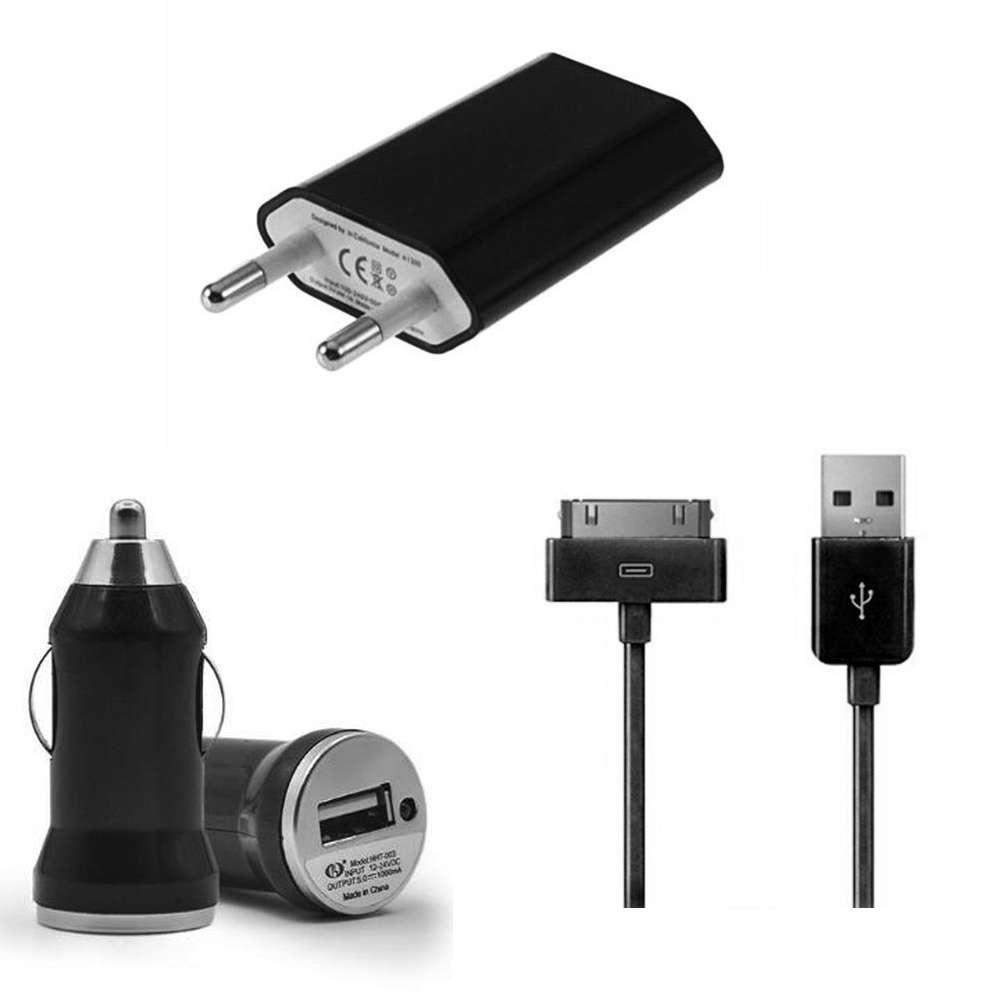 chargeur cable usb chargeur secteur chargeur voture pour iphone au choix ebay. Black Bedroom Furniture Sets. Home Design Ideas