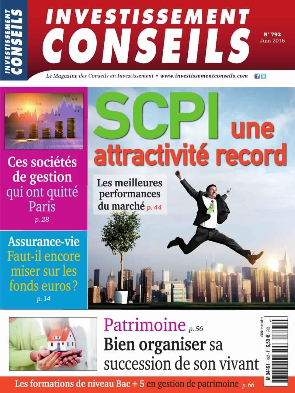 Investissement Conseils 792 - Juin 2016