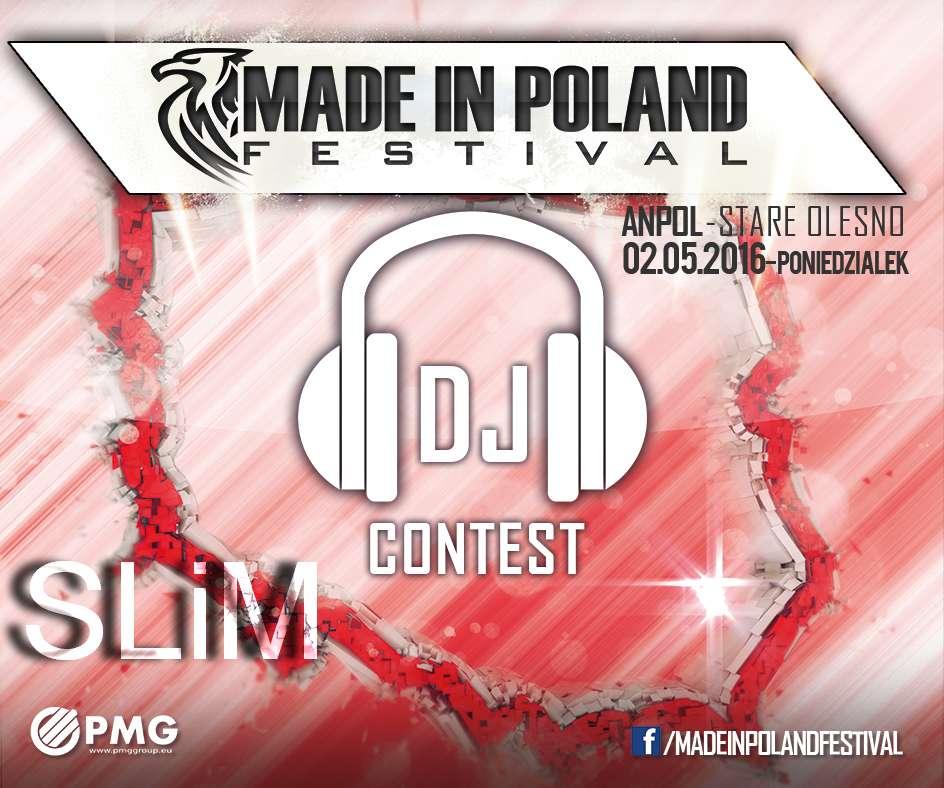 SLiM Made In Poland DJCONTEST 2016 (10.04.16)