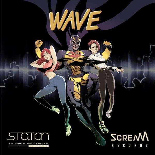 Amber, Luna f(x), R3hab, Xavi, & Gi - Wave +MV - SM Station K2Ost free mp3 download korean song kpop kdrama ost lyric 320 kbps