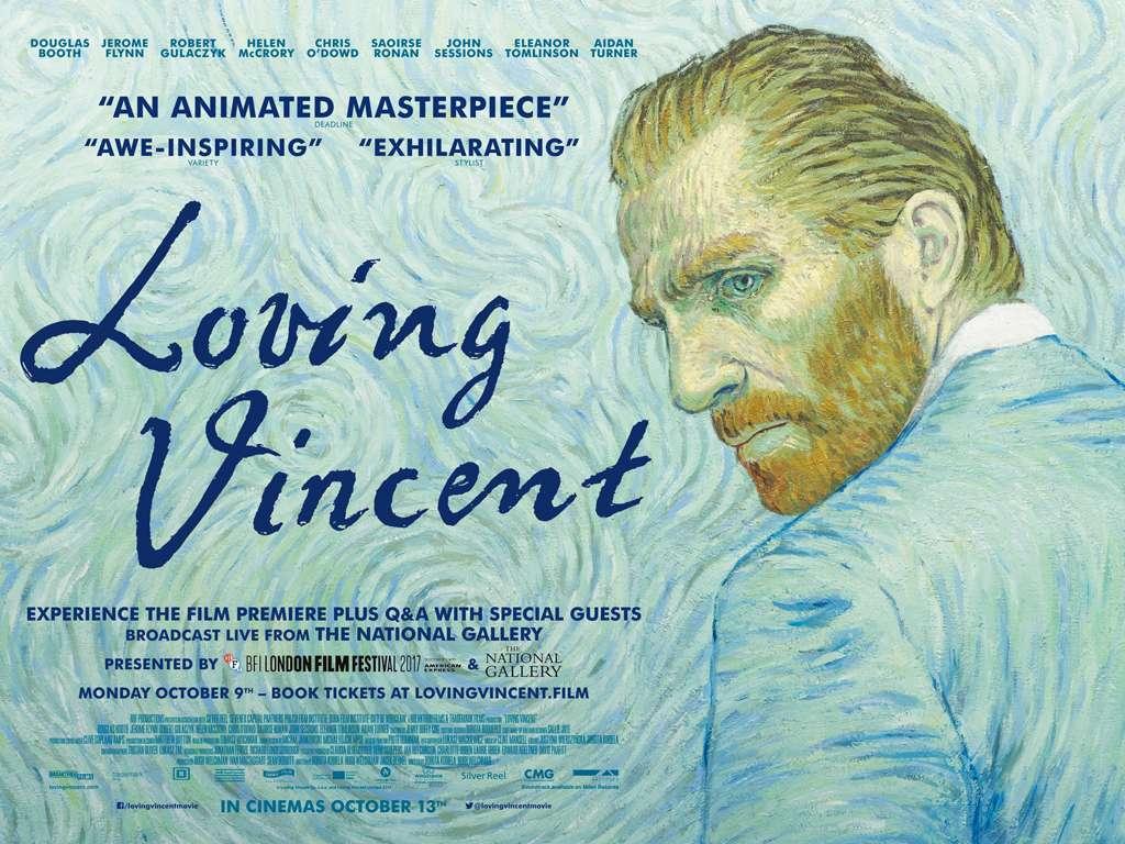 Loving Vincent Quad Poster Πόστερ