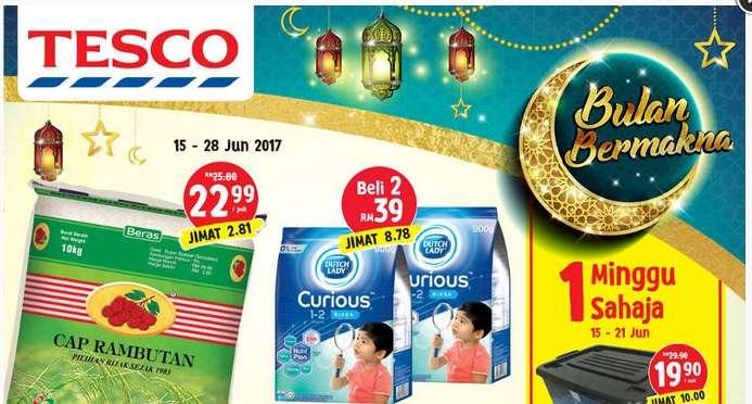 Tesco Malaysia Weekly Catalogue (15 June 2017 - 21 June 2017)