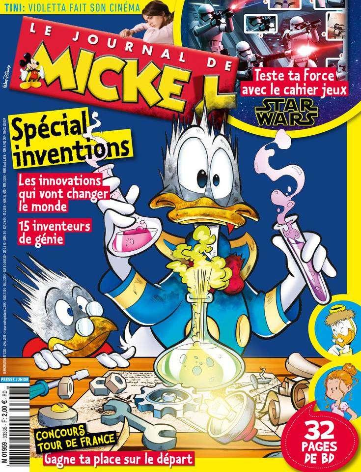Le Journal de Mickey - 4 au 10 Mai 2016