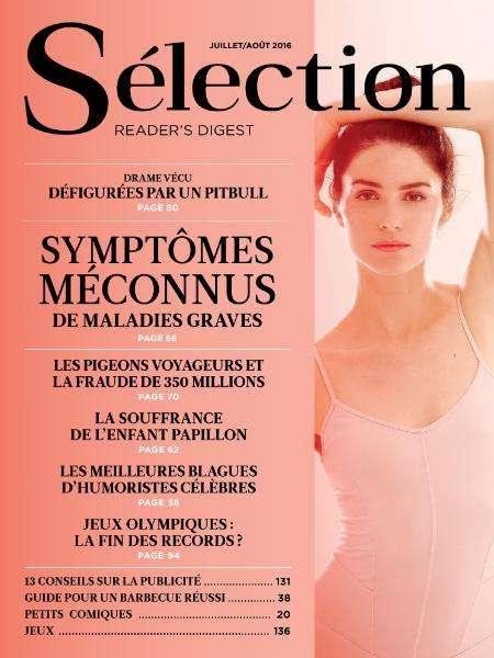Sélection Reader's Digest France - Juillet-Août 2016