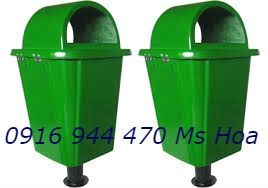 www.123nhanh.com: Bán thùng rác nhựa, thùng rác 55l chân sắt