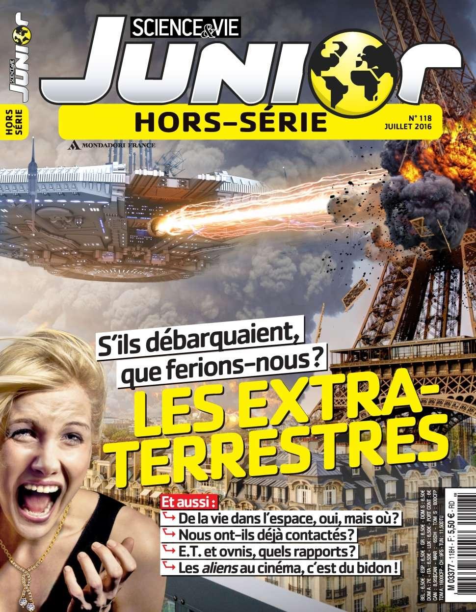 Science & Vie Junior Hors-Série 118 - Juillet 2016
