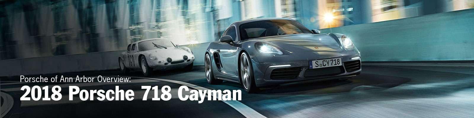 2018 Porsche 718 Cayman in Michigan