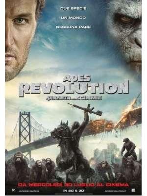 Apes Revolution - Il Pianeta Delle Scimmie (2014).avi DVDrip Xvid Ac3 - Ita