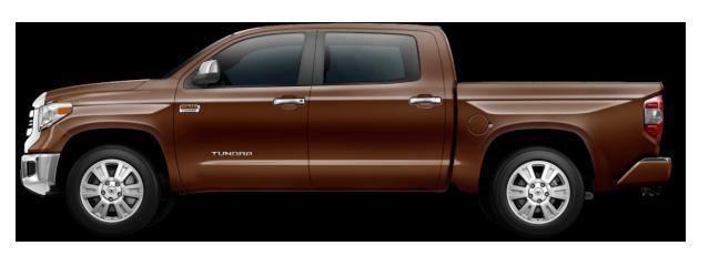 Brown Toyota Tundra